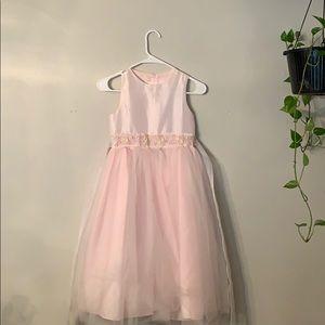 Pink Easter dress.